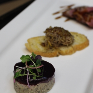 Plated Trio Duck Entree
